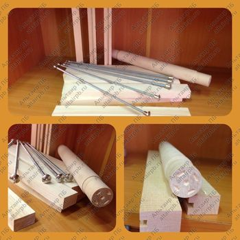 Ступени и Стяжки (комплект) для штурмовой лестницы по пожарно-прикладному спорту