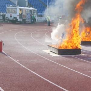 Противень для пожарно-прикладного спорта (с сливным клапаном)