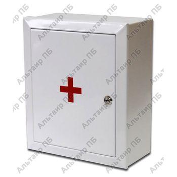 Аптечка первой помощи офисная (металлический шкаф до 30 человек)