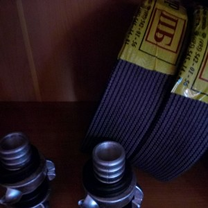 Пара черных спортивных рукавов в сборе с ГР-50 Ротт