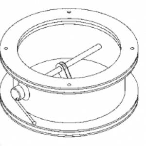 КГ-300 клапан герметический вентиляционный облегченного типа