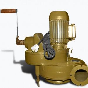 Вентилятор ВАП-1 с электродвигателем (с хранения)