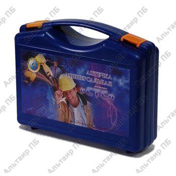 Аптечка универсальная (пластиковый чемодан, синяя)