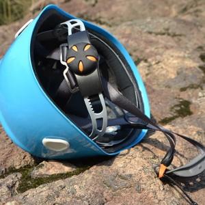 Каска из ABS пластика голубого цвета по ППС