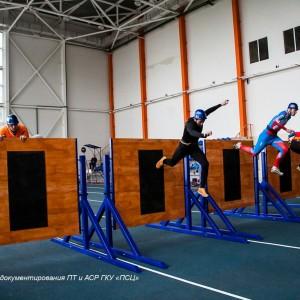 Забор спортивный регулируемый для соревнований по пожарно-прикладному спорту